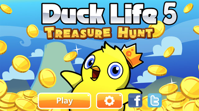 Duck Life 5 - game online earn to die hot