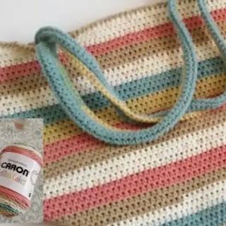 Bolso Playero a Crochet