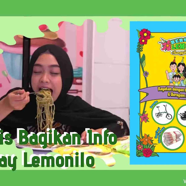 Ria Ricis Bagikan Info Giveaway Lemonilo