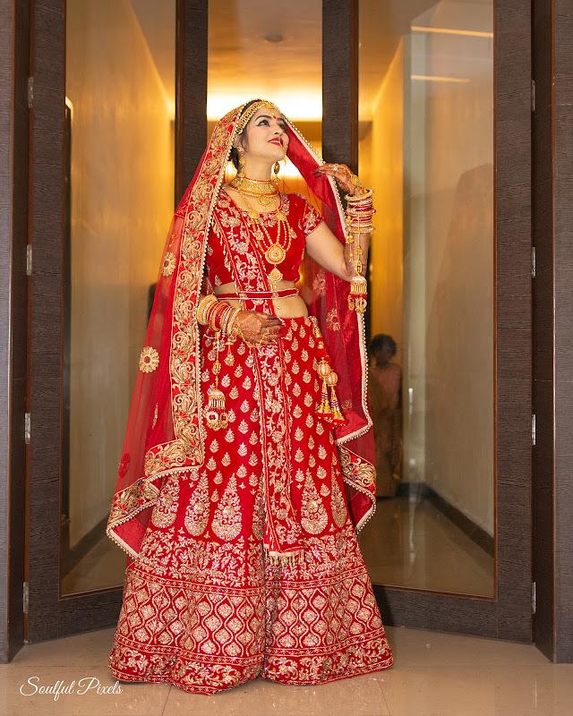 Gorgeous Bihari Bride In Lehenga