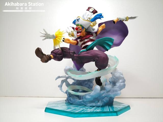 Review del Figuarts Zero Buggy The Clown ~ Paramount War ~ de One Piece - Tamashii Nations