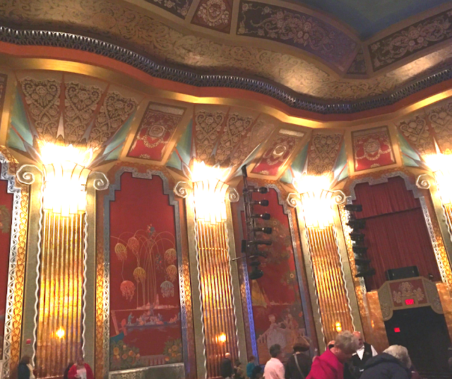 Stunning details at the Paramount Theatre create a sense of awe.