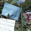 Merasa Dikibuli Pemerintah, Masyarakat Ketol Aceh Tengah Blokir Jalan