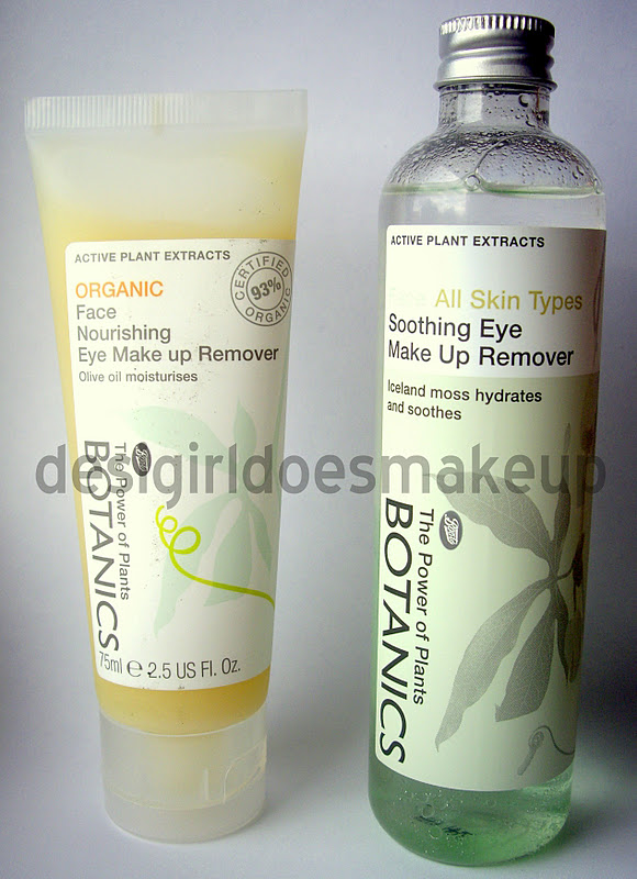 Boots Botanics Soothing Eye Makeup Remover