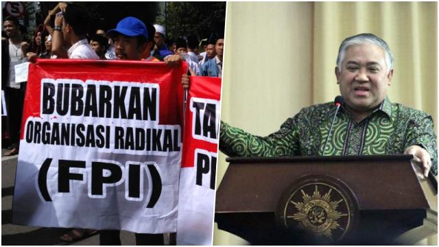 Pengamat: Setelah FPI, Buzzer Serang Din untuk Menstigma bahwa Muhammadiyah itu Radikal