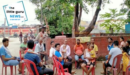 दुर्गा पूजा को लेकर आयोजन समिति की हुई बैठक