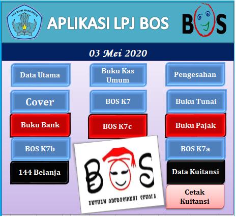 Download Aplikasi Pelaporan BOS Reguler Bulanan Tahun 2020 Excel