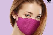 Promo Wacoal Masker Kain Harga Hanya 30.000 untuk 1 paket masker (isi 3)!