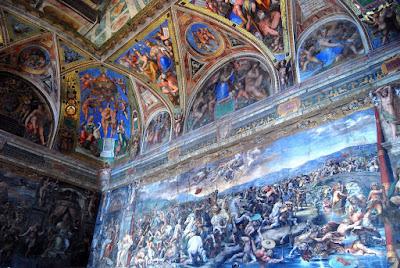 la Bataille du pont Milvius, Giulio Romano