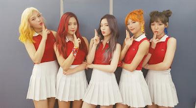 kpop red velvet roupas