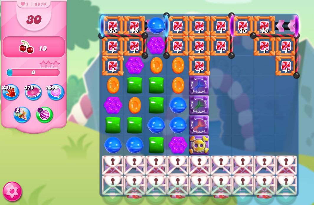 Candy Crush Saga level 8914