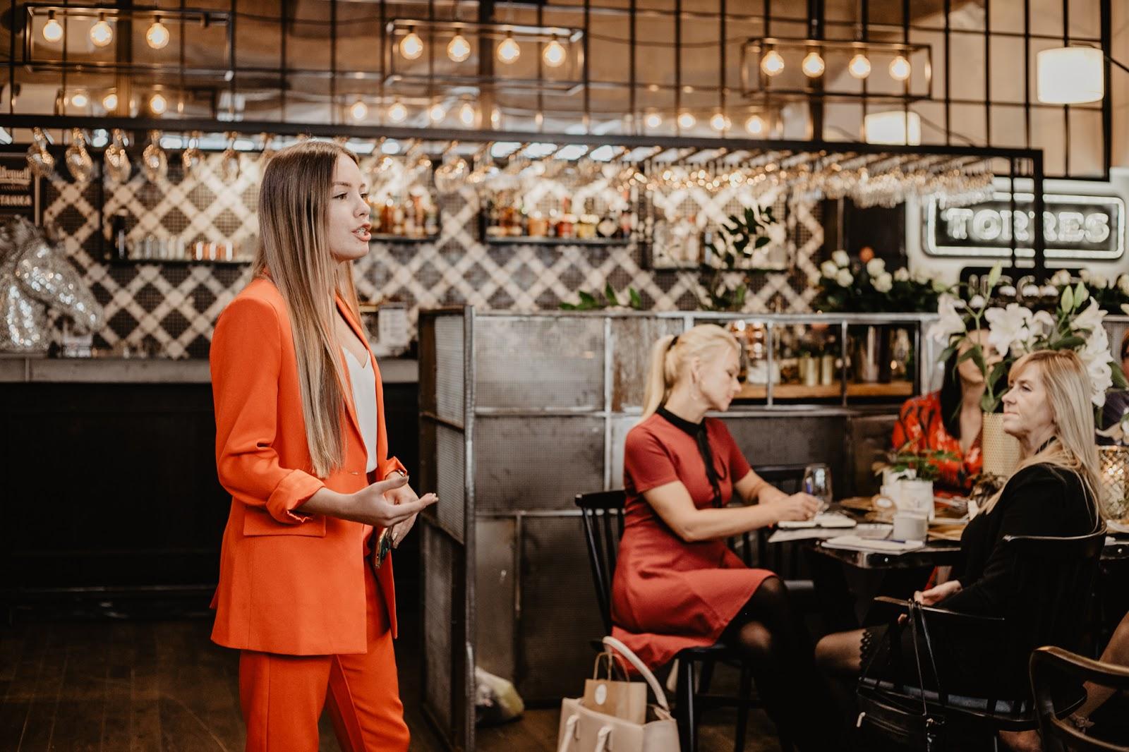 Poprowadziłam prelekcje dla 50 przedsiębiorczych kobiet! Influencer Marketing