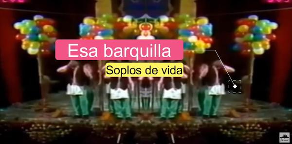 """Pasodoble con Letra """"Esa barquilla"""". Comparsa """"Soplos de Vida"""" (1986) de Antonio Martín"""