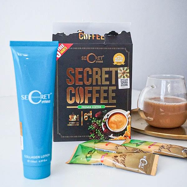 Secret Correa Premium Lotion Dan Secret Coffee