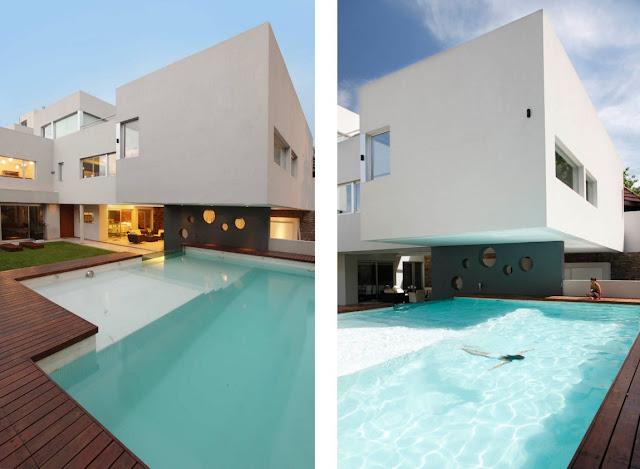 Diseno de casa moderna por andres remy arquitectos - Diseno casa moderna ...