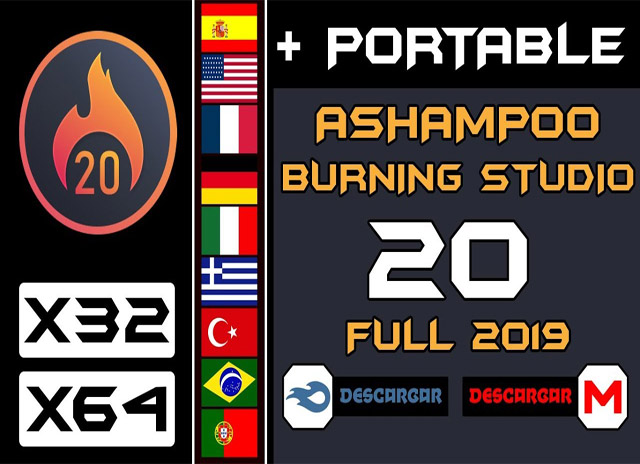 ashampoo burning studio v20 -