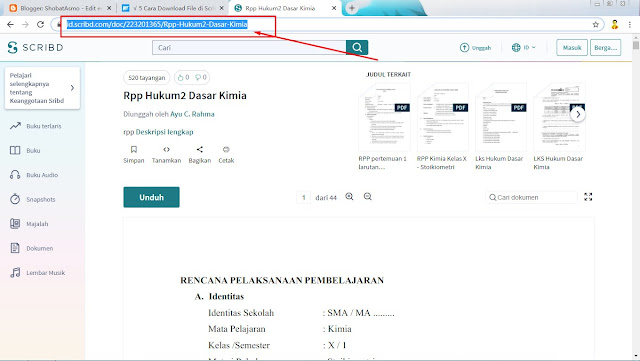 Cara Download File di Scribd Tanpa Login