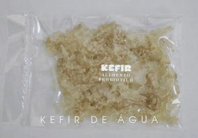 kefir de água ou tibico desidratado