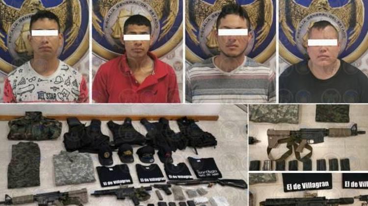 """Cae """"El Miclo"""", mano derecha del """"El Marro"""", líder del Cártel de Santa Rosa de Lima en Guanajuato"""