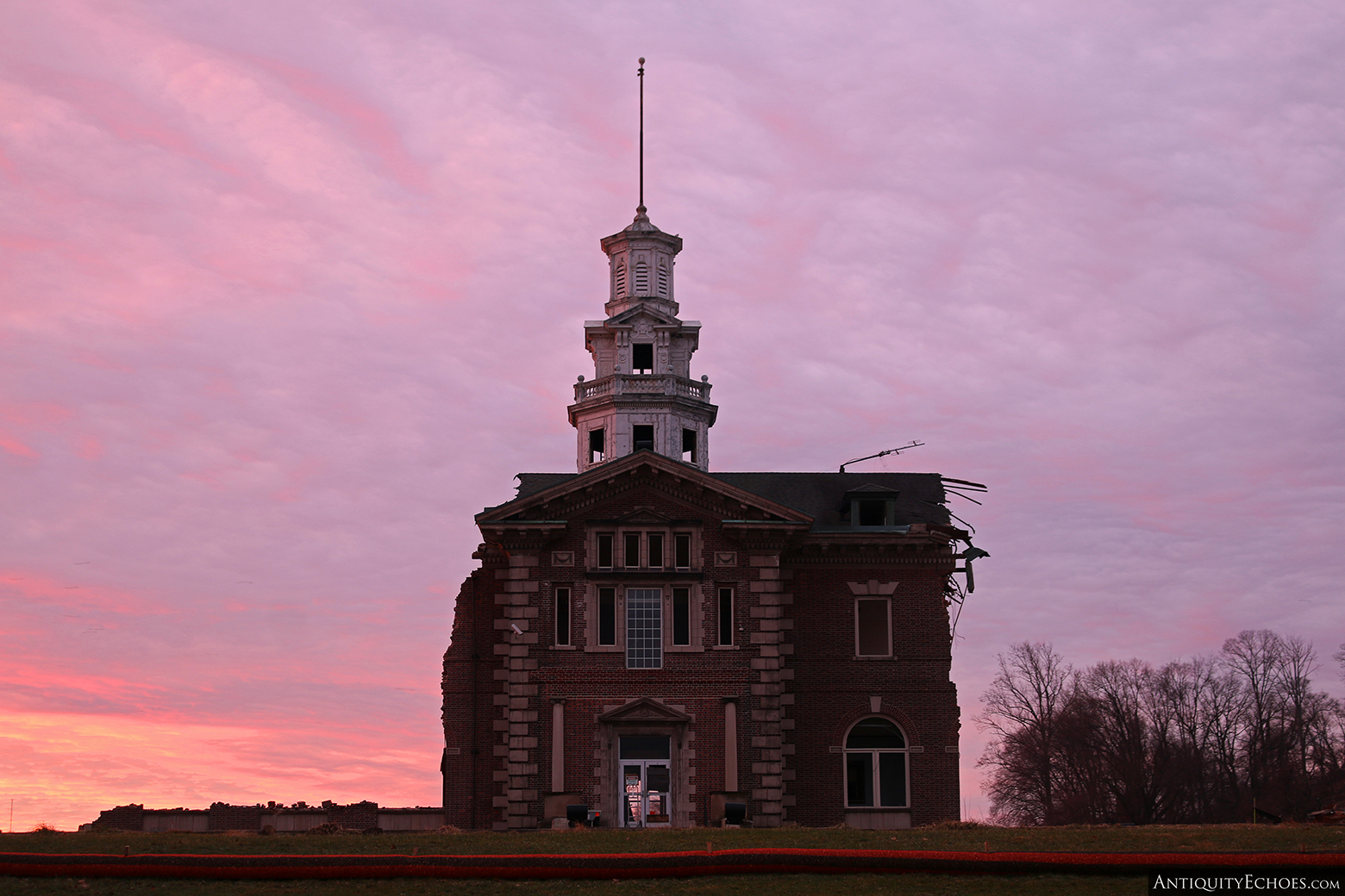 Allentown State Hospital - Demolition - The Last Sunrise