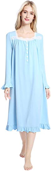 70% off Cotton Victorian Nightgowns for Women