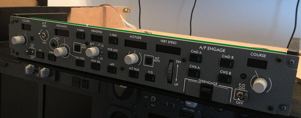 MIP: MCP V3 from OpenCockpits ~ Home Cockpit Boeing 737NG-800