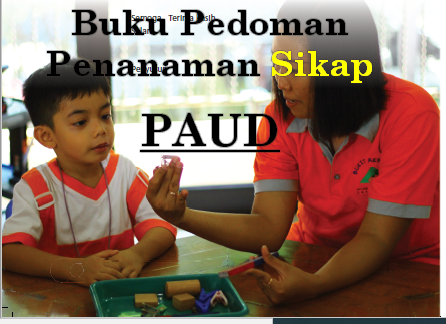 Download Buku Pedoman Penanaman Sikap PAUD