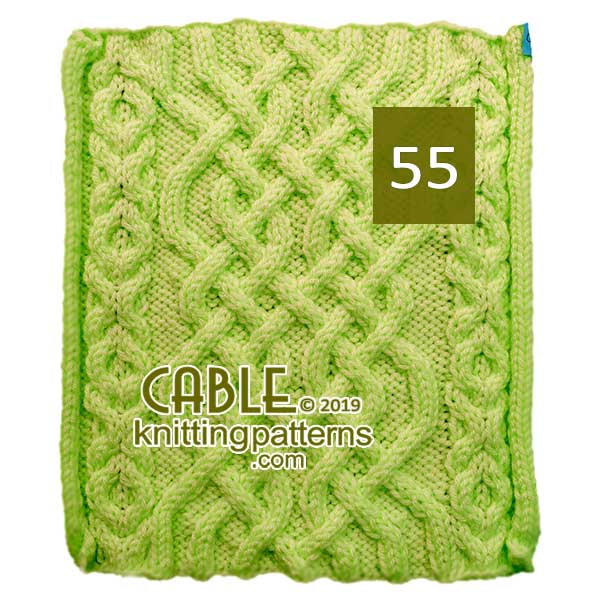 Cable Knitting Pattern 55