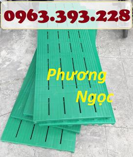 Tấm nhựa pallet lót sàn, tấm nhựa lót sàn, pallet nhựa nguyên sinh