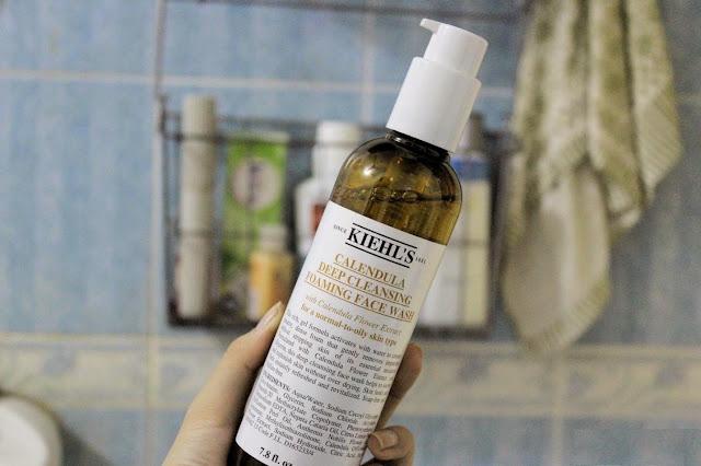 Kiehl's Deep Cleansing Foaming Face Wash dùng tốt không