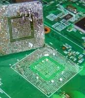 Circuito integrado BGA listo para reballing