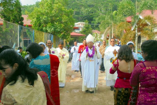 Syukuran Paskah Yayasan St. Maria Berbelaskasih Sibolga
