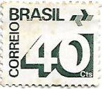 Selo Tipo cifra - 40