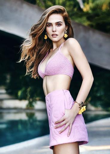 Zoey Deutch Cosmopolitan Magazine February 2016 Model Photo Shoot