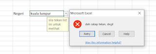 Cara Cara Membuat Data Validation Di Microsoft Excel