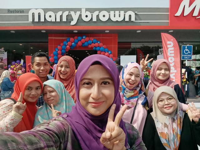 Marrybrown Rawang, Marrybrown Caltex, Marrybrown, Marrybrown cawangan Rawang