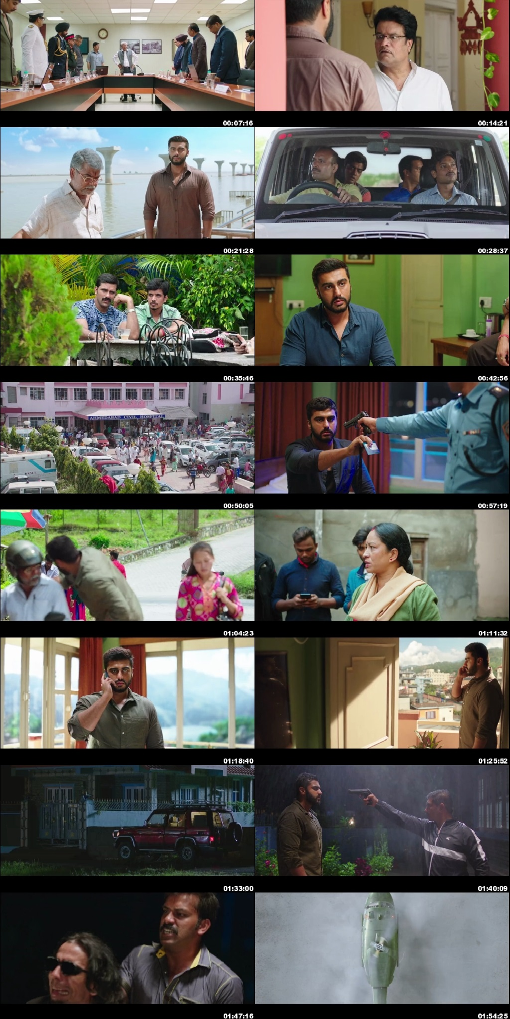 Screen Shot Of India's Most Wanted 2019 Full Movie Free Download HD 720P Watch Online
