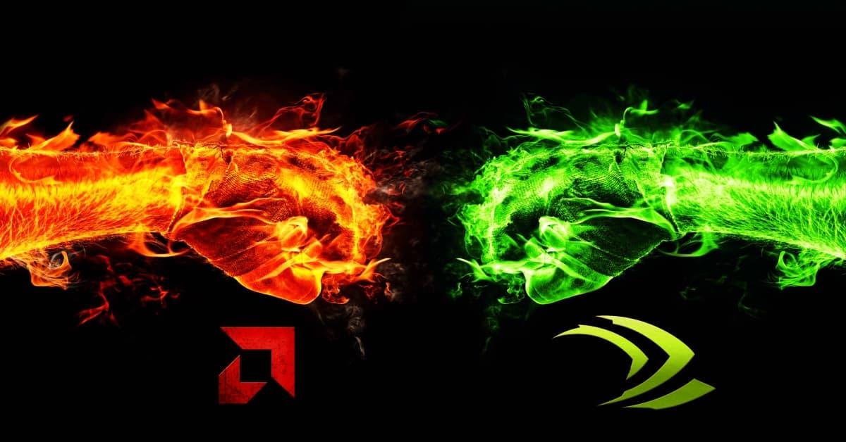 مقارنة بين كروت الشاشة Nvidia و AMD