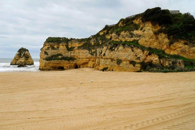 The Algarve in Winter: Portimão beaches