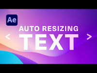 How to Change Size and Auto Resize Type in After Effects