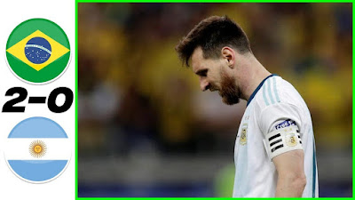 ملخص مباراة البرازيل والارجنتين 2-0 وأهداف خيسوس وفيرمنيهو تحسم التأهل