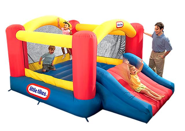 Jump n' Slide Dry Bouncer