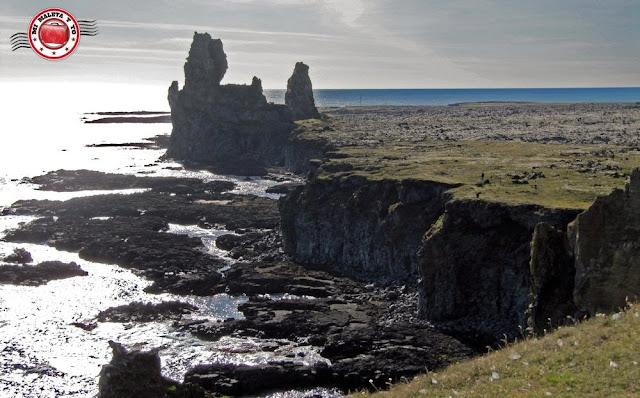 Hellnar, Snæfellsnes, Islandia