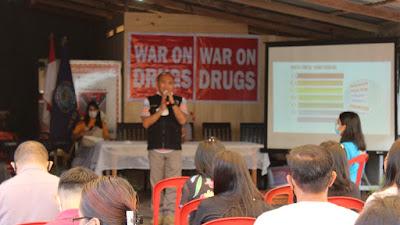 BNNP Sulut Sosialisasikan P4GN dan Persiapan Pencanangan Desa Raringis Selatan BERSINAR