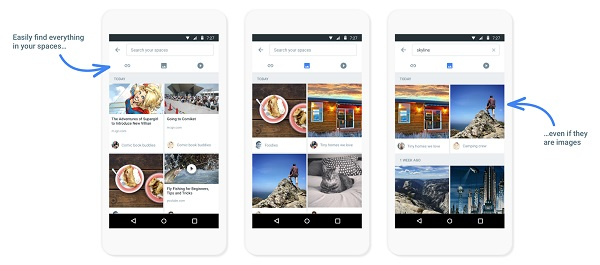 Google rolls out Spaces, a small group sharing app for Android, iPhone and Desktop