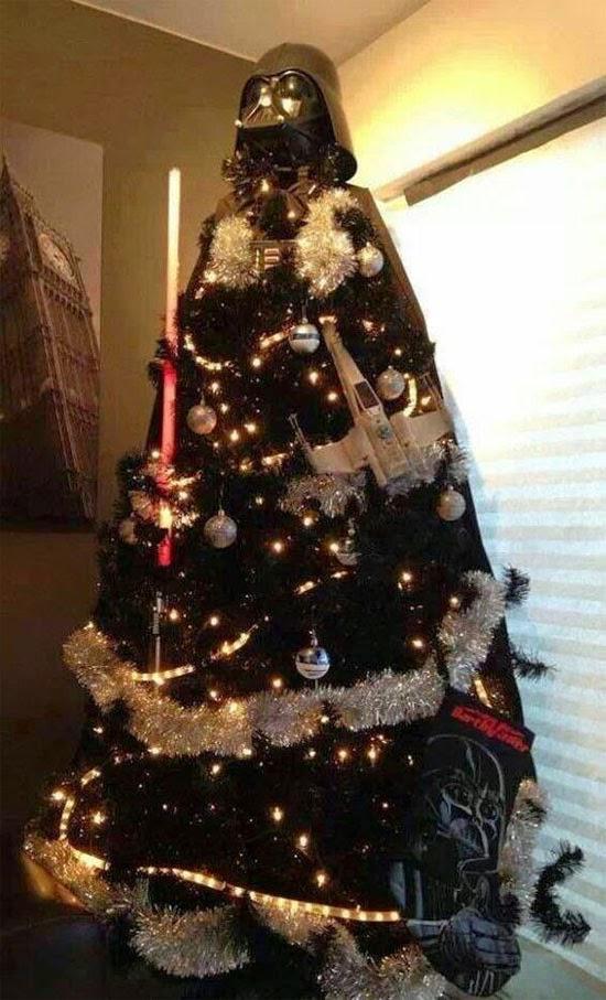 árvore de natal nerd