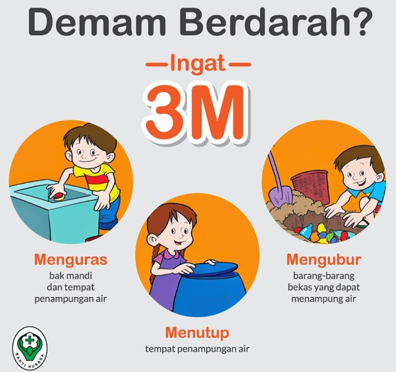 3M Plus Cara Tepat Cegah Penyakit Demam Berdarah