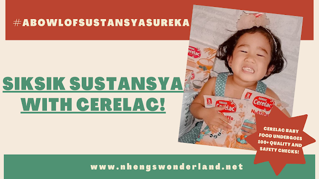 Siksik Sustansya with Cerelac