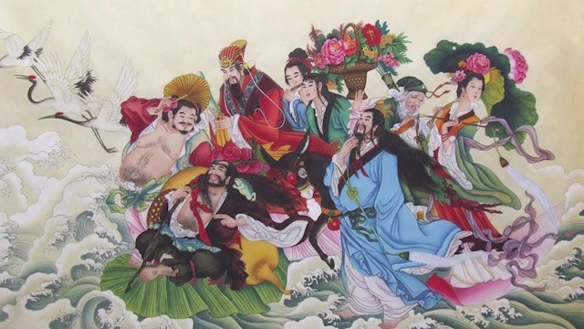 Chinese Gods and Goddesses The Eight Immortals