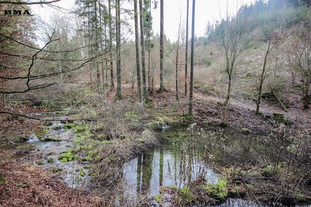 Sinterterrassen Greding Adolf Hackner Weg outdoor blog